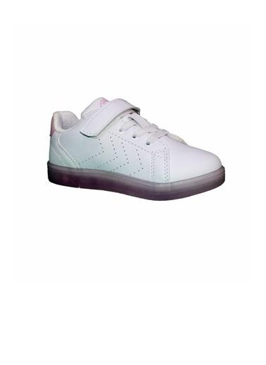 Hummel Hummel Taegu Jr Sneaker Çocuk Ayakkabı 212701-9051 212701-9051015 Beyaz